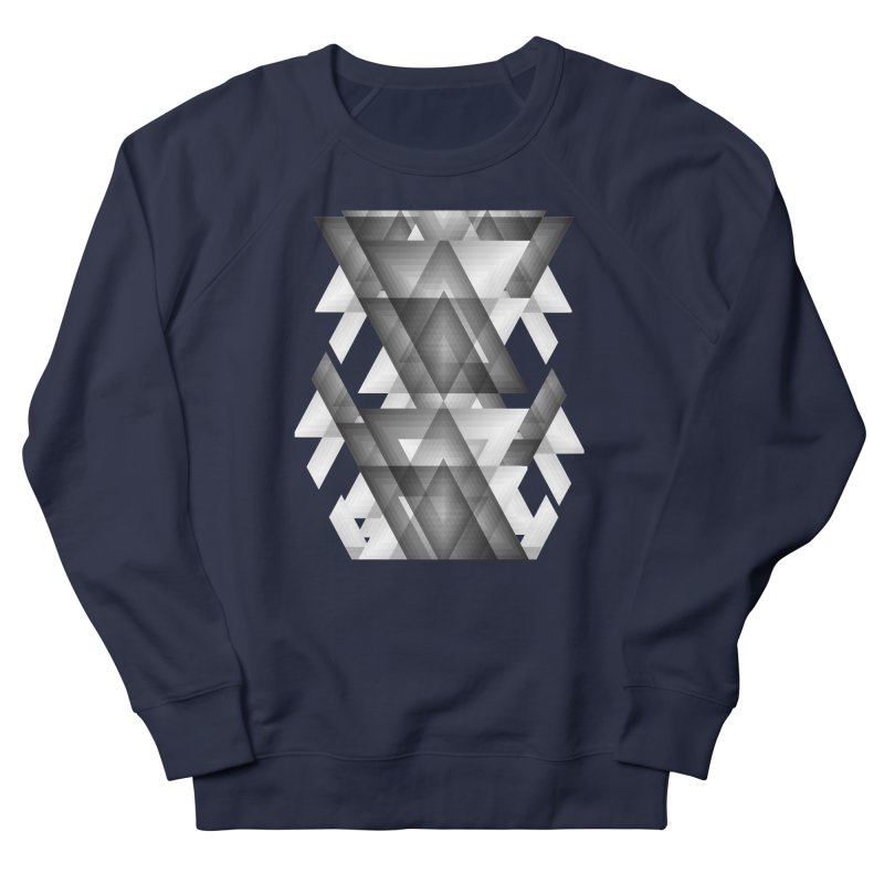 Trianglism Men's Sweatshirt by ruifaria's Artist Shop