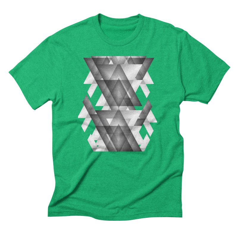 Trianglism Men's Triblend T-Shirt by ruifaria's Artist Shop