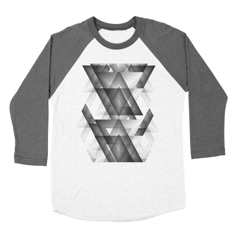 Trianglism Men's Baseball Triblend T-Shirt by ruifaria's Artist Shop