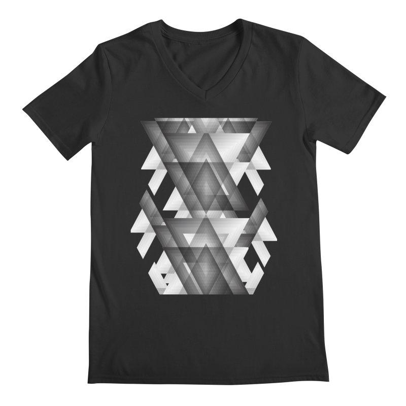 Trianglism Men's V-Neck by ruifaria's Artist Shop
