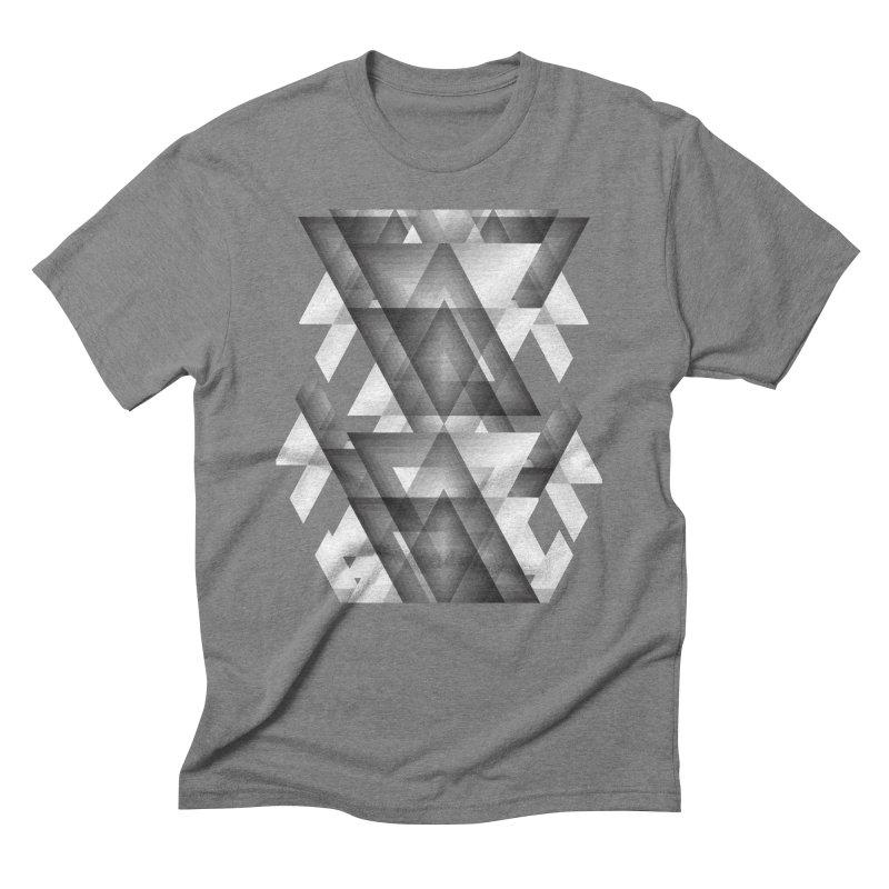 Trianglism Men's Triblend T-shirt by ruifaria's Artist Shop