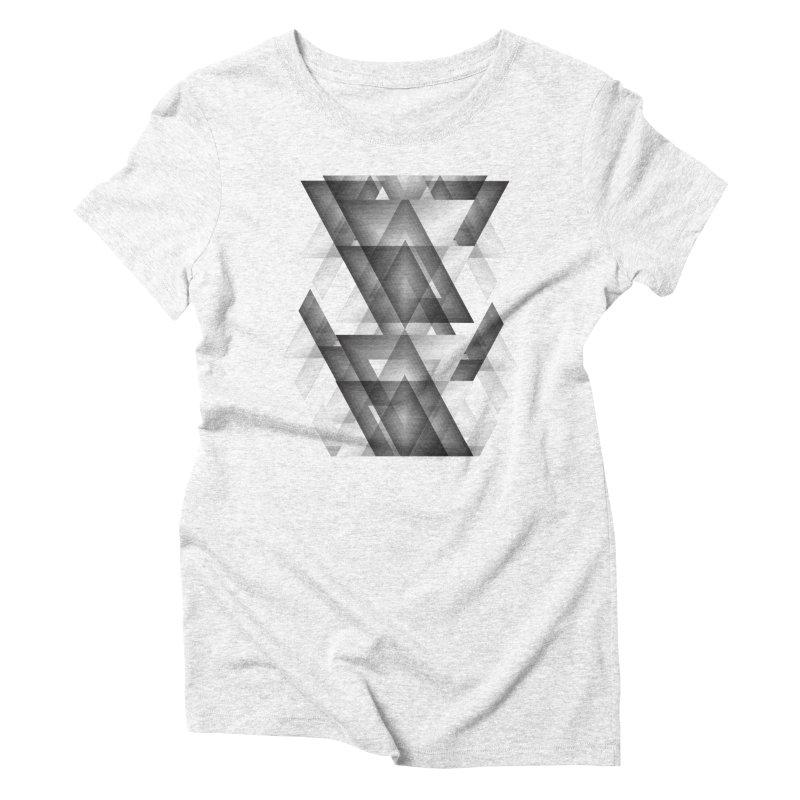 Trianglism Women's Triblend T-shirt by ruifaria's Artist Shop