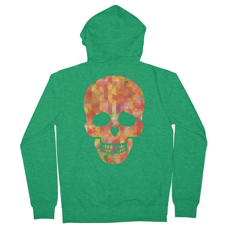 Fun Skull Men's Zip-Up Hoody by ruifaria's Artist Shop