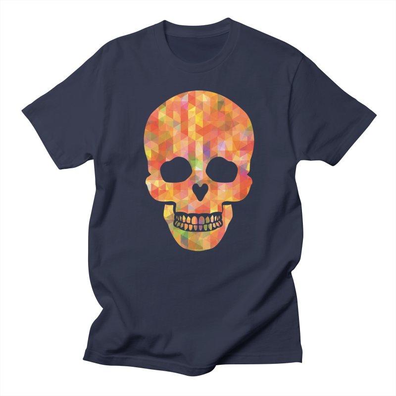 Fun Skull Men's T-Shirt by ruifaria's Artist Shop