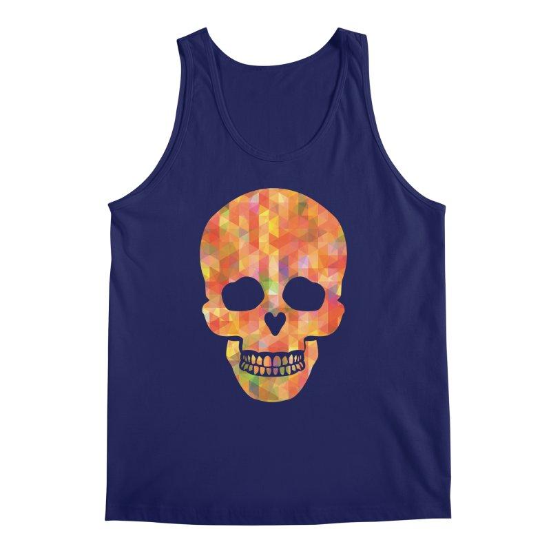Fun Skull Men's Tank by ruifaria's Artist Shop
