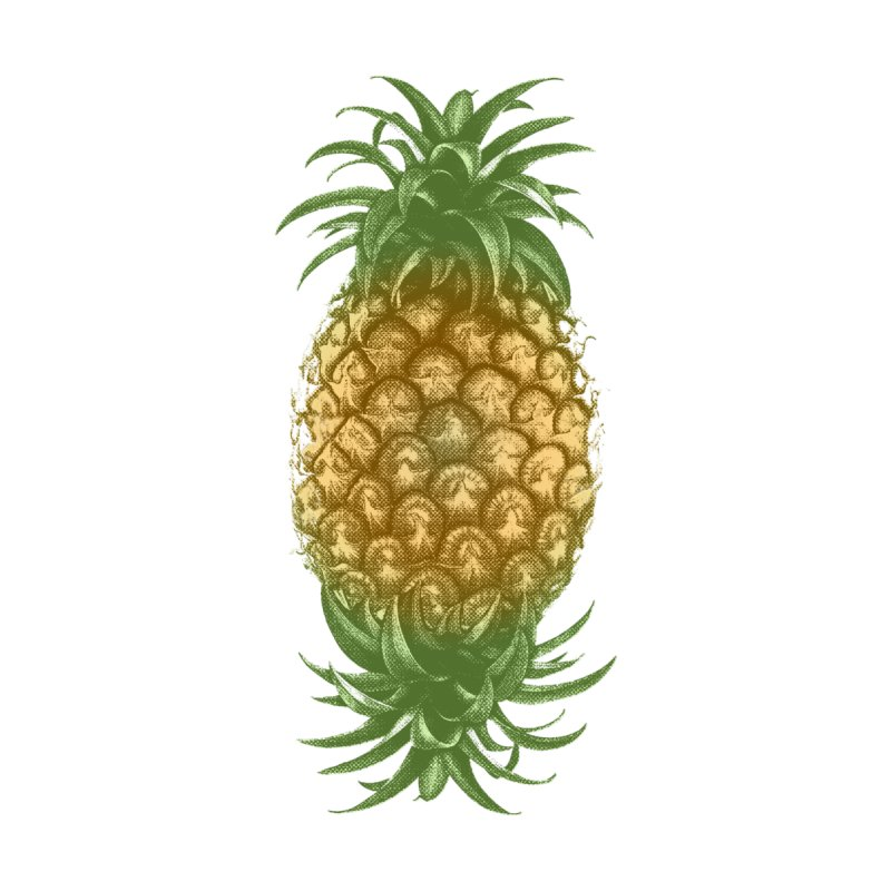 Genetically Engineered Pineapple by ruifaria's Artist Shop