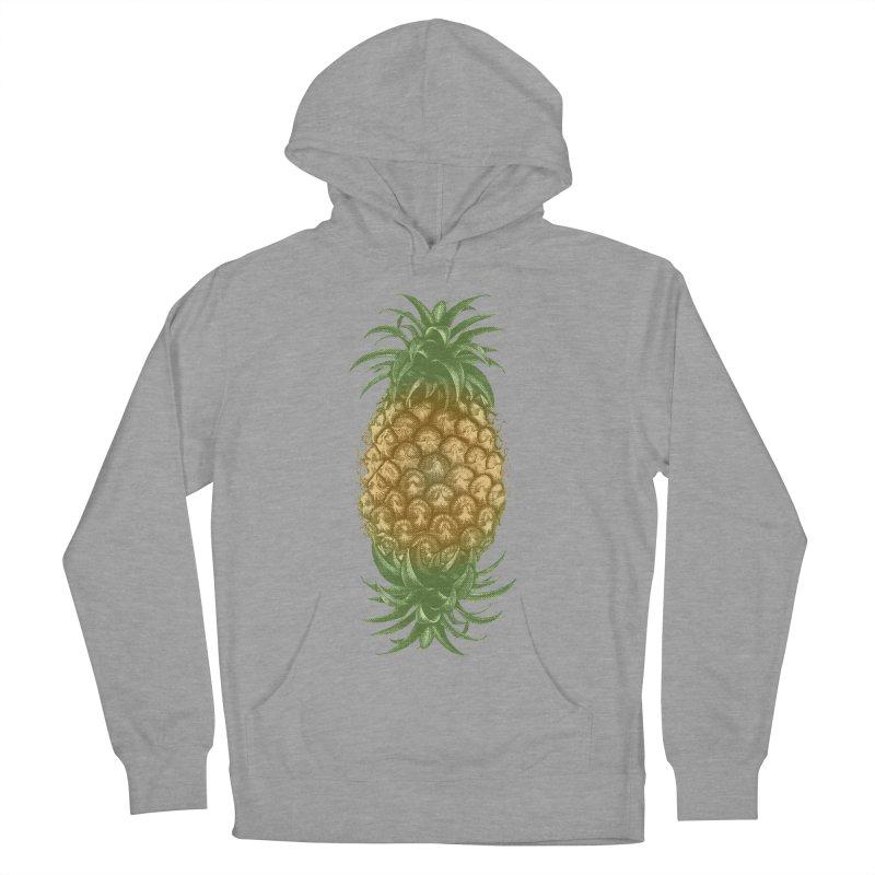 Genetically Engineered Pineapple Men's Pullover Hoody by ruifaria's Artist Shop