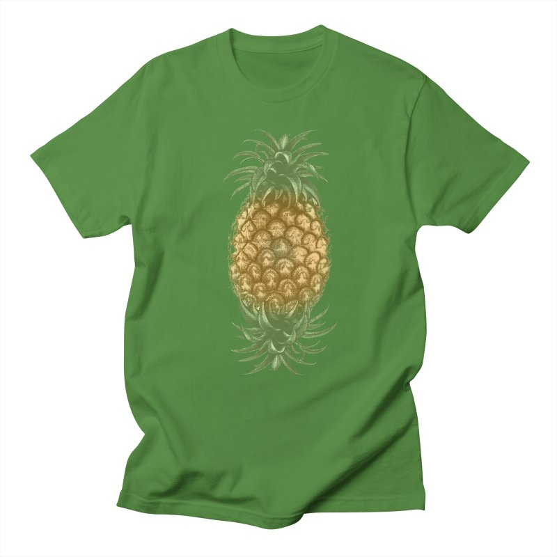 Genetically Engineered Pineapple Men's T-Shirt by ruifaria's Artist Shop
