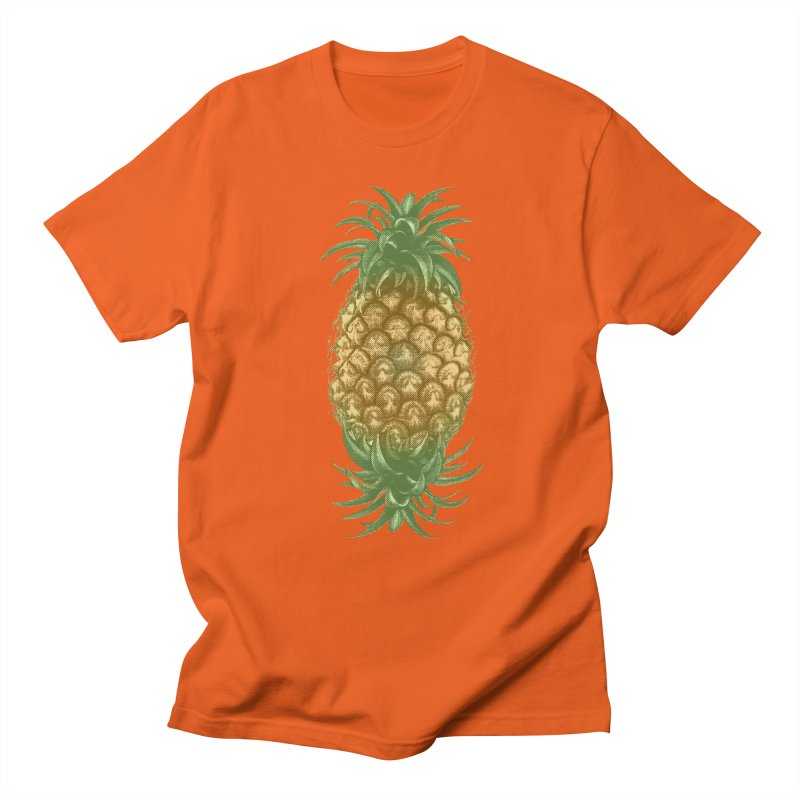 Genetically Engineered Pineapple Men's T-shirt by ruifaria's Artist Shop
