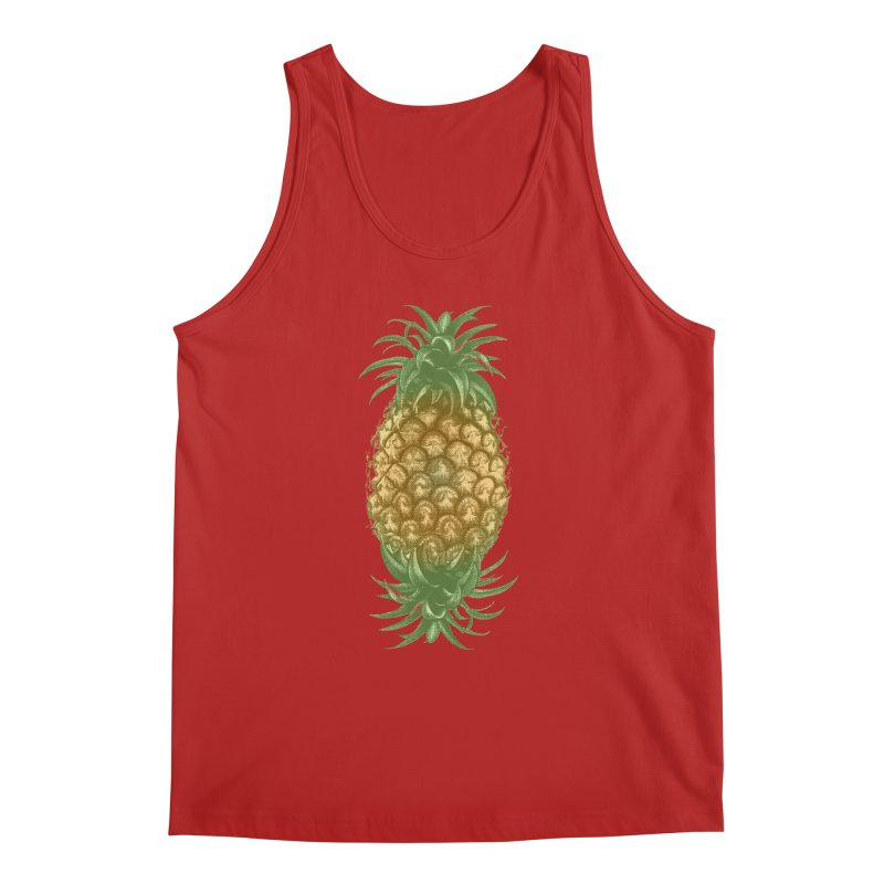 Genetically Engineered Pineapple Men's Tank by ruifaria's Artist Shop
