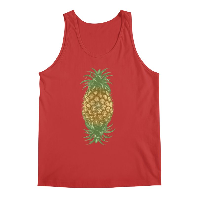 Genetically Engineered Pineapple Men's Tank by ruifaria's Artist Shop