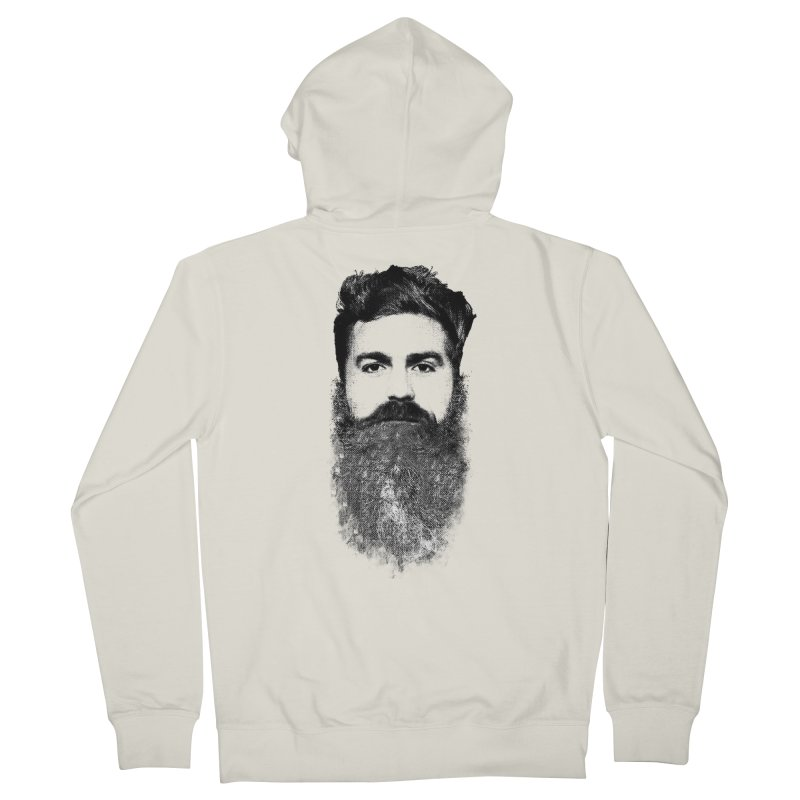 The Hipster Men's Zip-Up Hoody by ruifaria's Artist Shop