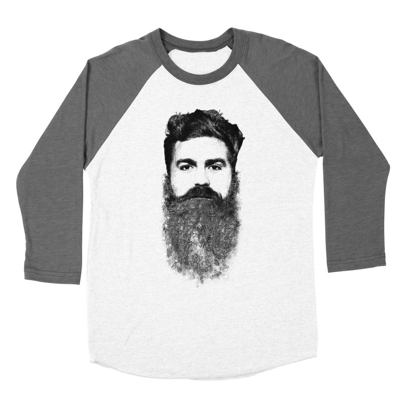 The Hipster Men's Baseball Triblend T-Shirt by ruifaria's Artist Shop