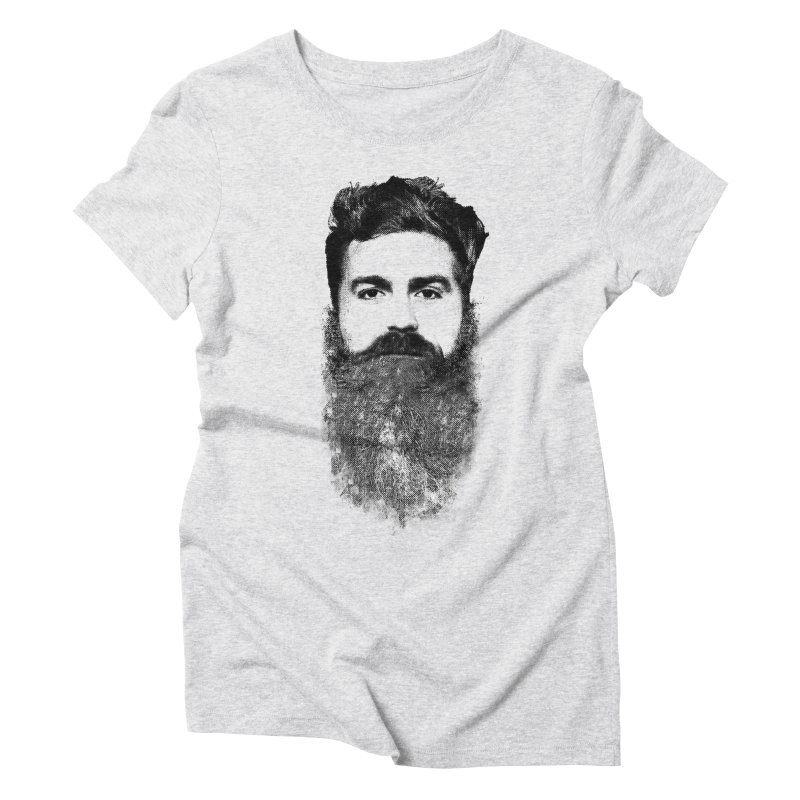 The Hipster Women's Triblend T-shirt by ruifaria's Artist Shop