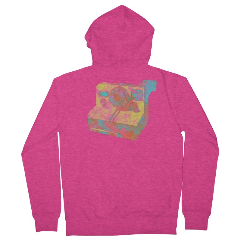Polaroid Women's Zip-Up Hoody by ruifaria's Artist Shop