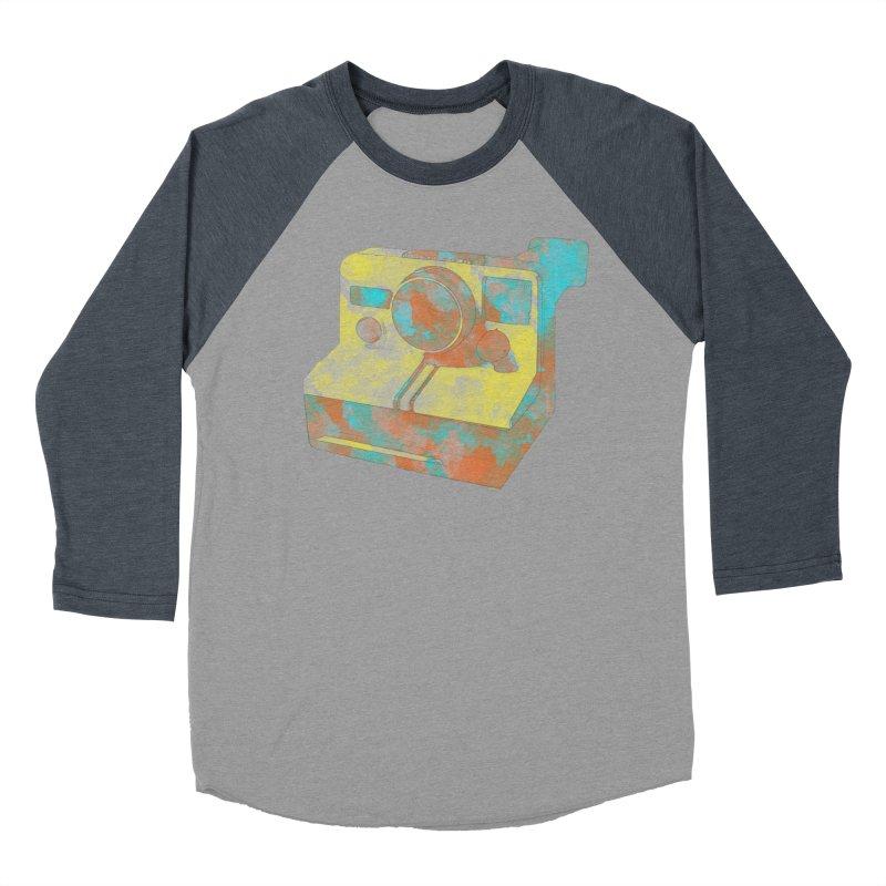 Polaroid Men's Baseball Triblend T-Shirt by ruifaria's Artist Shop