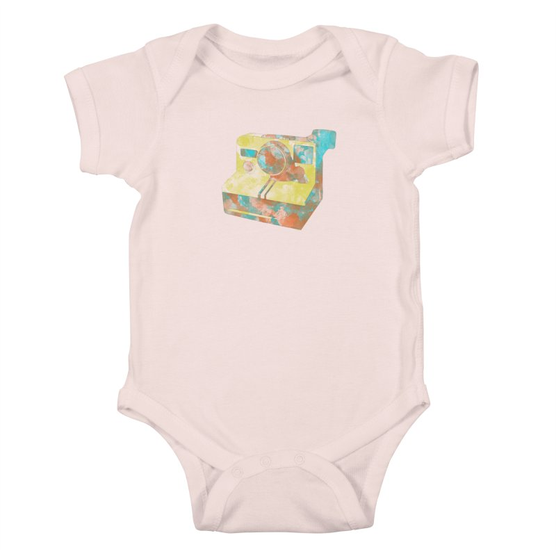 Polaroid Kids Baby Bodysuit by ruifaria's Artist Shop