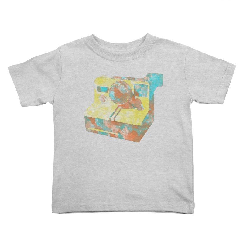 Polaroid Kids Toddler T-Shirt by ruifaria's Artist Shop