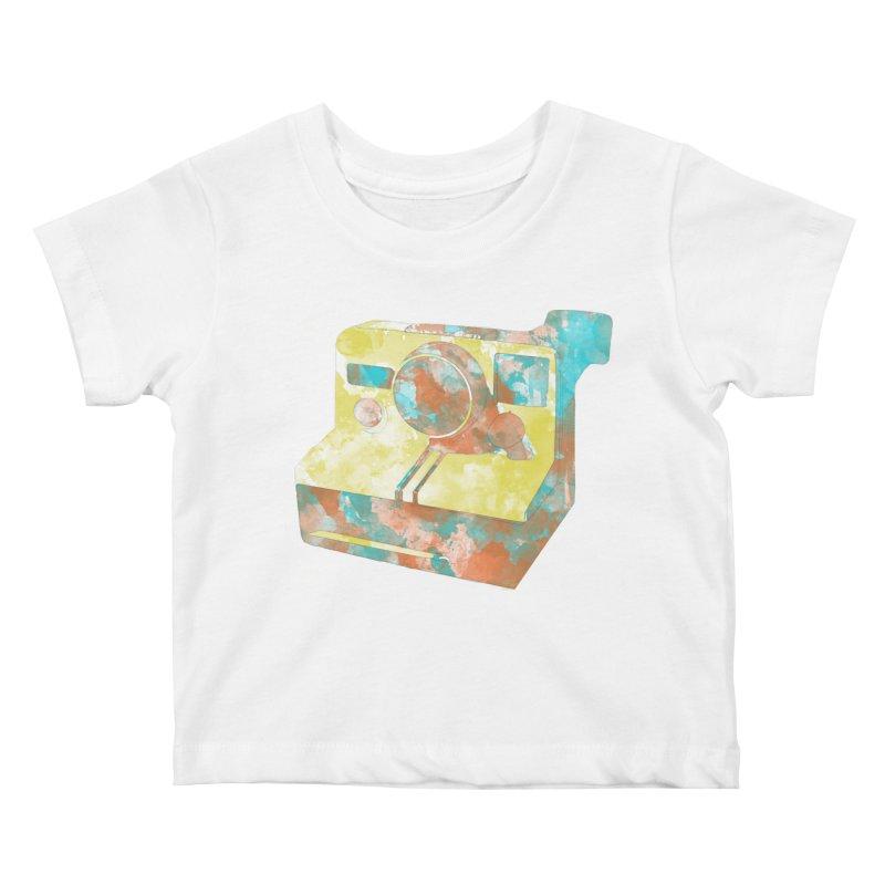 Polaroid Kids Baby T-Shirt by ruifaria's Artist Shop