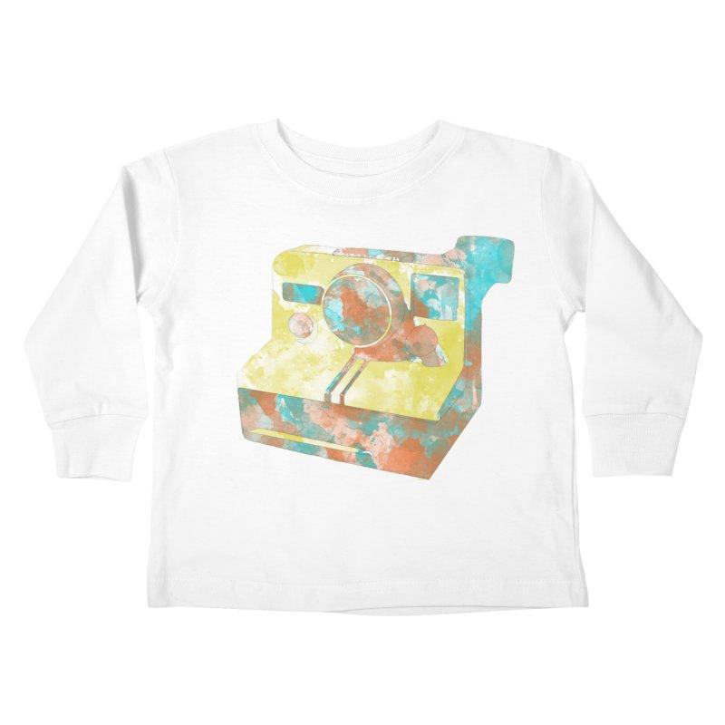 Polaroid Kids Toddler Longsleeve T-Shirt by ruifaria's Artist Shop