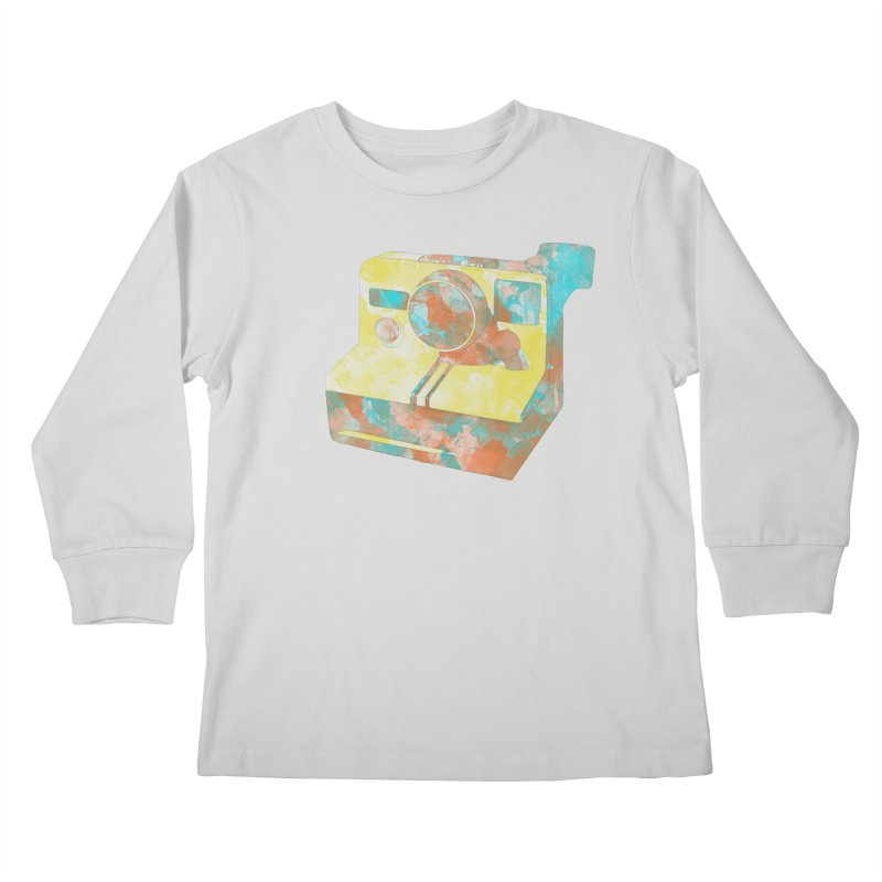 Polaroid Kids Longsleeve T-Shirt by ruifaria's Artist Shop