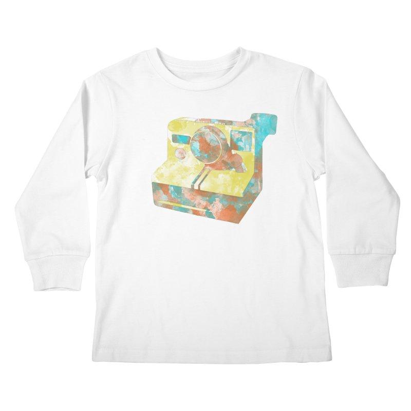 Polaroid Kids Longsleeve T-Shirt by ruifaria's Artist Shop