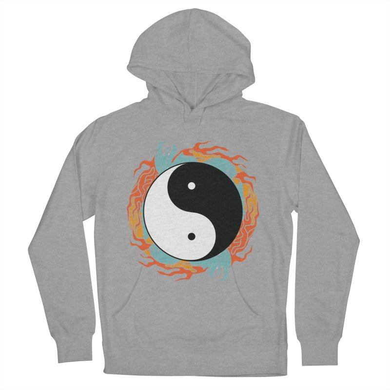 Yin-Yang Hidden Forces Women's Pullover Hoody by ruifaria's Artist Shop