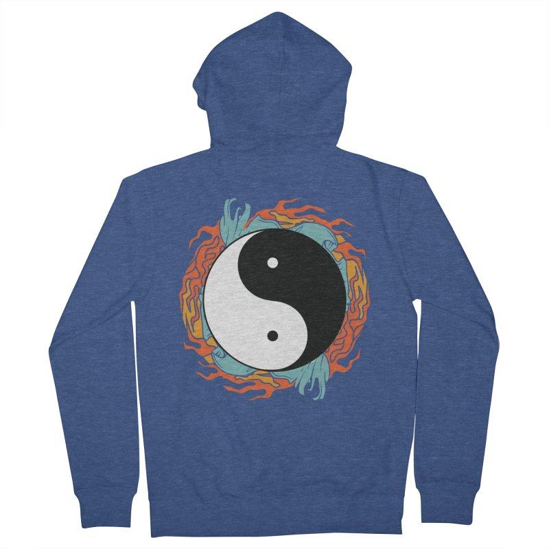 Yin-Yang Hidden Forces Women's Zip-Up Hoody by ruifaria's Artist Shop