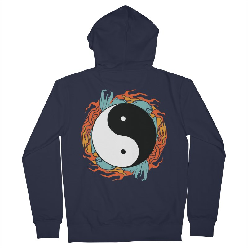Yin-Yang Hidden Forces Women's Zip-Up Hoody by ruifaria's Artist Shop