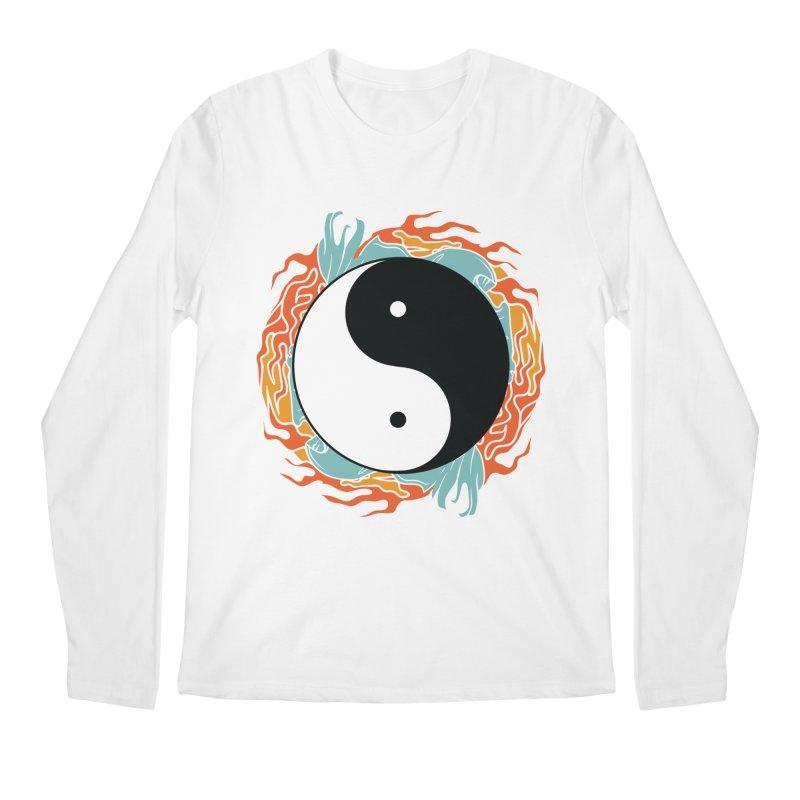 Yin-Yang Hidden Forces Men's Longsleeve T-Shirt by ruifaria's Artist Shop