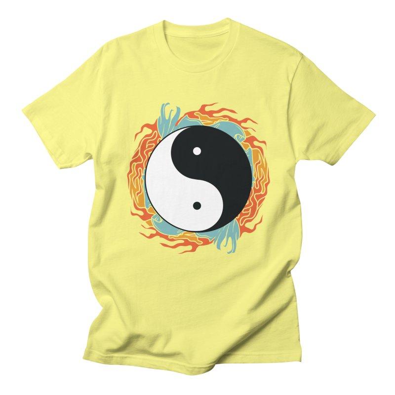 Yin-Yang Hidden Forces Men's T-Shirt by ruifaria's Artist Shop