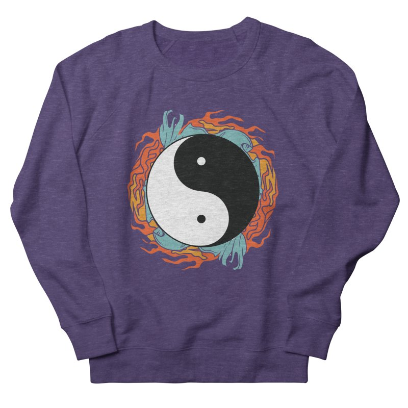 Yin-Yang Hidden Forces Men's Sweatshirt by ruifaria's Artist Shop