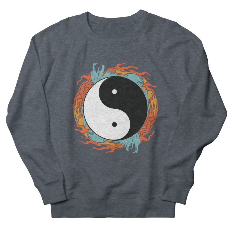 Yin-Yang Hidden Forces Men's Sweatshirt by ruifaria's Artist Shop