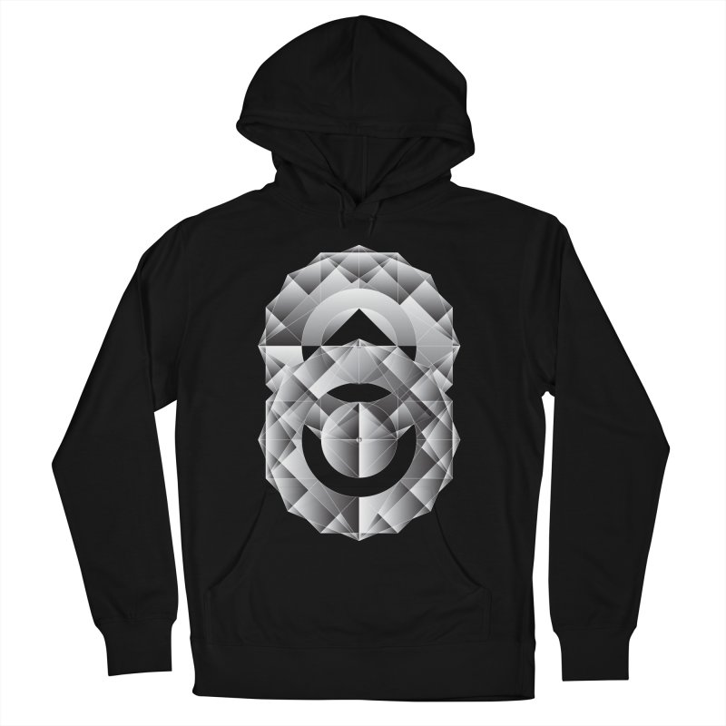 Geometric Perfection Men's Pullover Hoody by ruifaria's Artist Shop