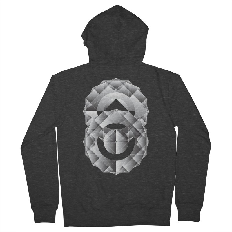 Geometric Perfection Women's Zip-Up Hoody by ruifaria's Artist Shop