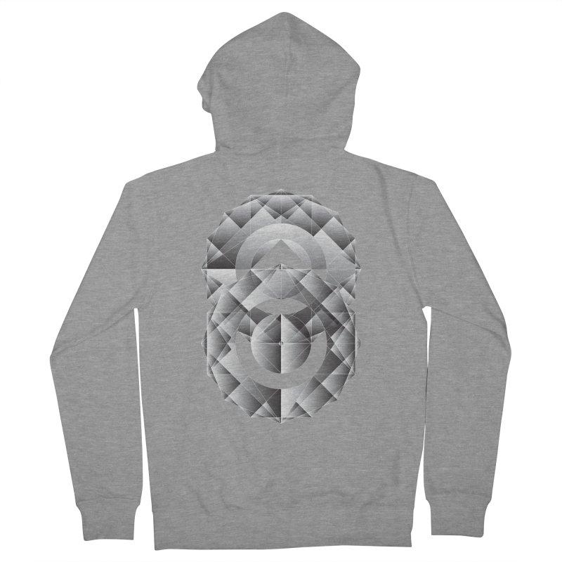 Geometric Perfection Women's Zip-Up Hoody by ruifaria's Artist Shop