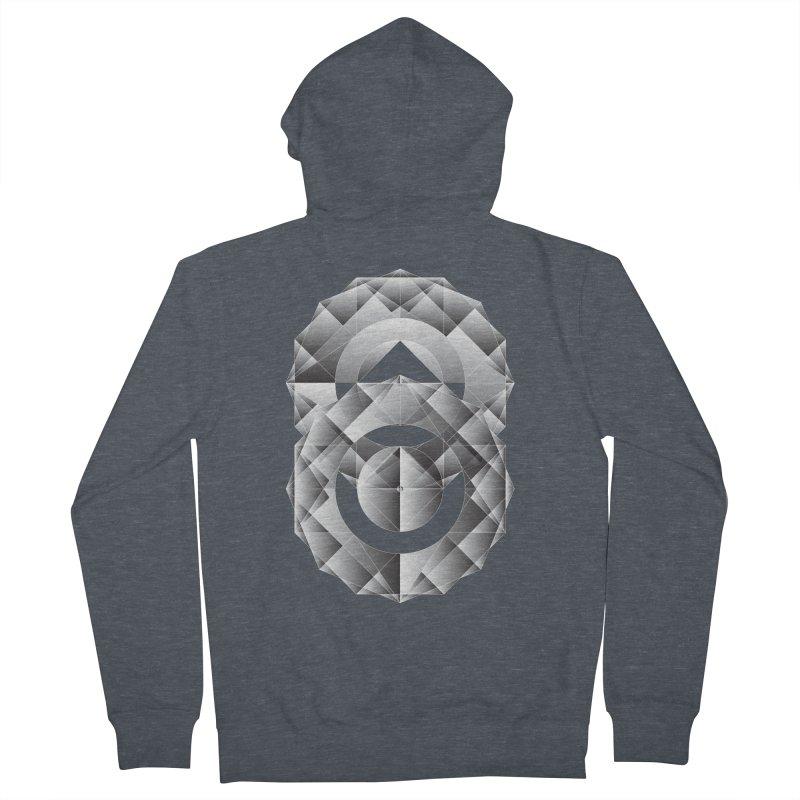 Geometric Perfection Men's Zip-Up Hoody by ruifaria's Artist Shop