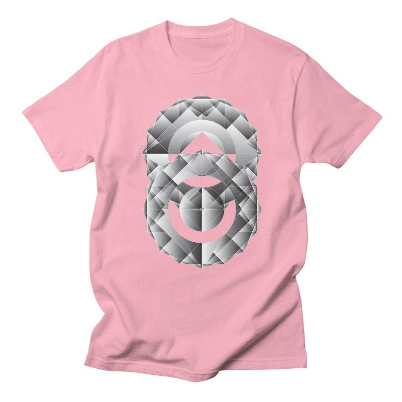 Geometric Perfection Men's T-Shirt by ruifaria's Artist Shop