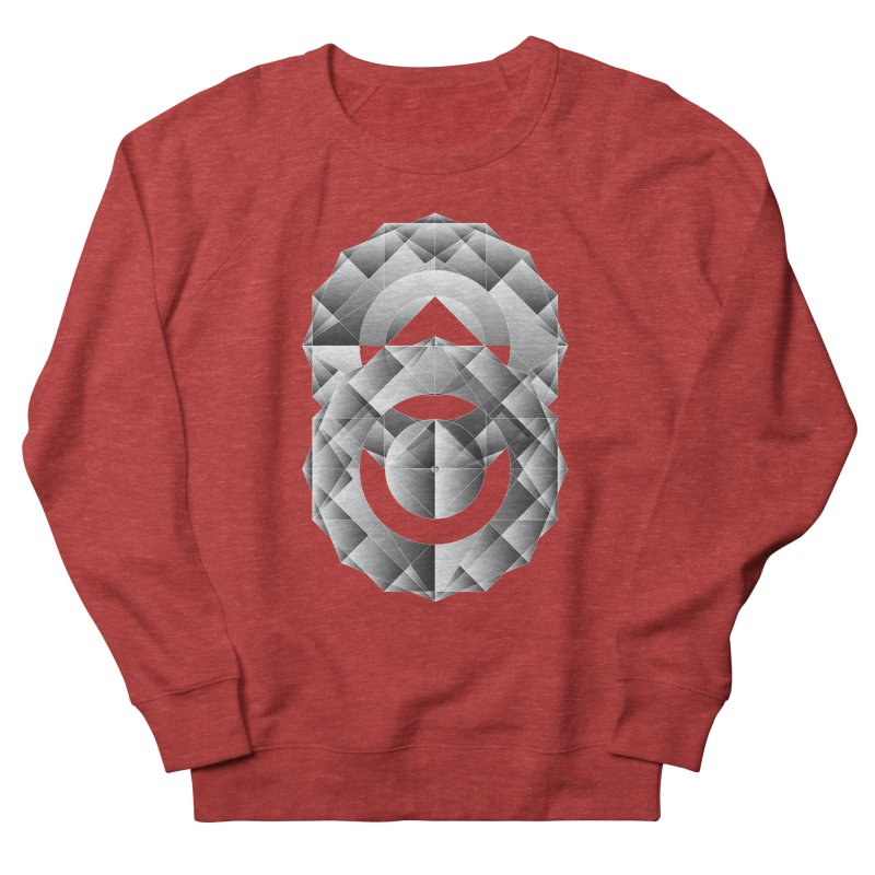 Geometric Perfection Men's Sweatshirt by ruifaria's Artist Shop