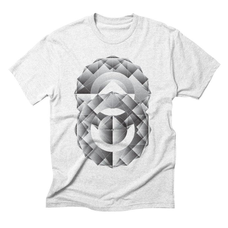 Geometric Perfection Men's Triblend T-shirt by ruifaria's Artist Shop