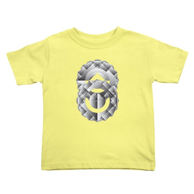 Geometric Perfection Kids Toddler T-Shirt by ruifaria's Artist Shop