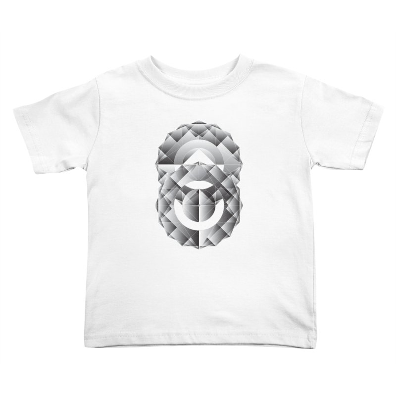 Geometric Perfection Kids Toddler T-Shirt by ruifaria's Artist Shop