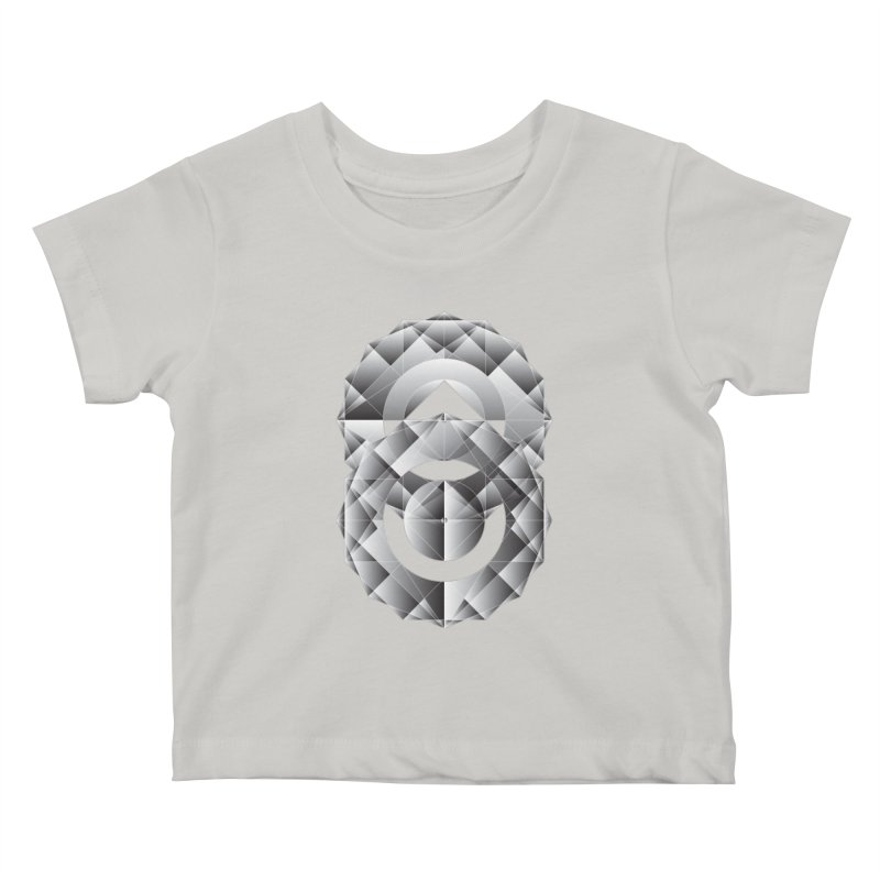 Geometric Perfection Kids Baby T-Shirt by ruifaria's Artist Shop