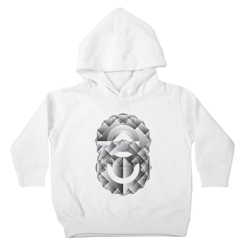 Geometric Perfection Kids Toddler Pullover Hoody by ruifaria's Artist Shop