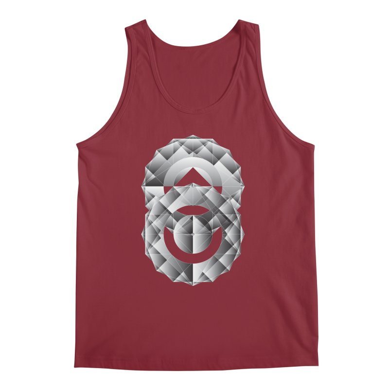 Geometric Perfection Men's Tank by ruifaria's Artist Shop