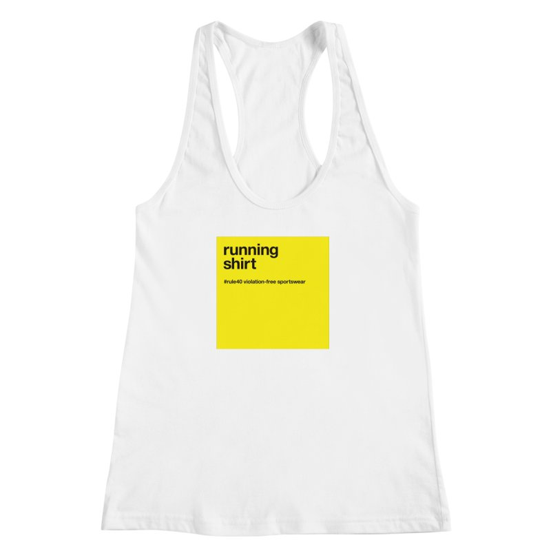 Running Shirt / Tank Top Women's Tank by rule40's Artist Shop