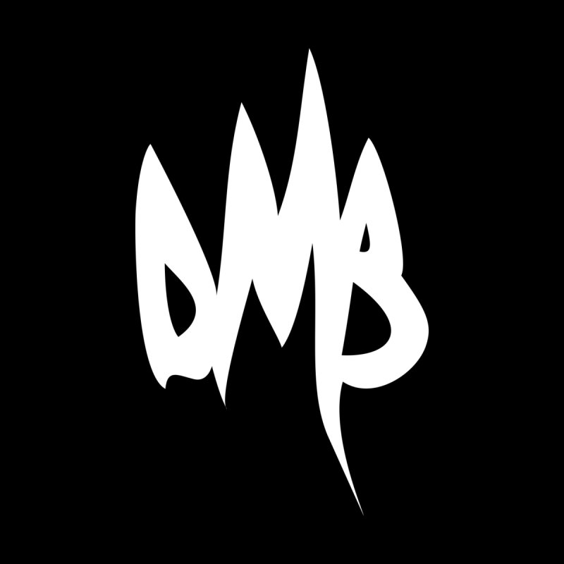 DMB Logotype White by RunDMB's Artist Shop