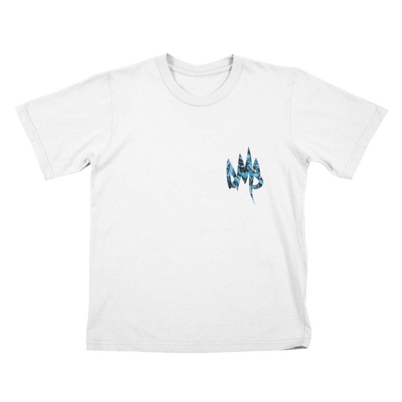 DMB Logotype Camo Detail Kids T-Shirt by RunDMB's Artist Shop