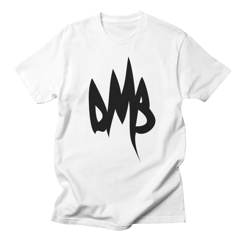 DMB Logotype Black in Men's T-shirt White by RunDMB's Artist Shop