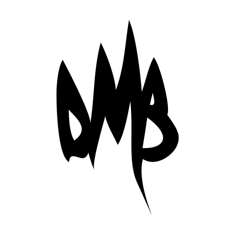DMB Logotype Black Men's T-Shirt by RunDMB's Artist Shop